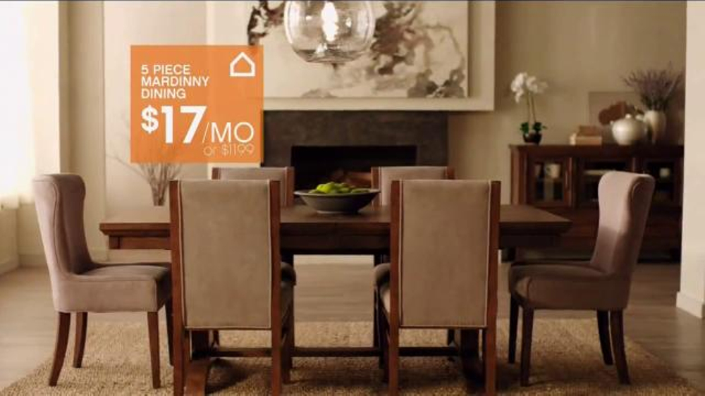 ashley furniture homestore tv spot 39 redefine your room 39 screenshot