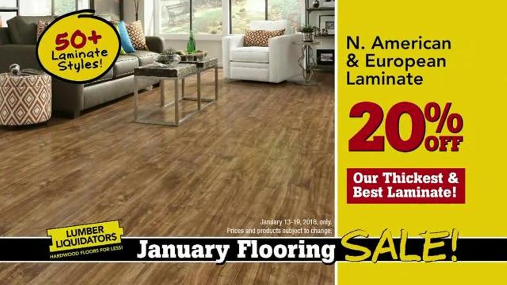 Flooring Sale Flyer : Lumber liquidators january flooring sale tv spot