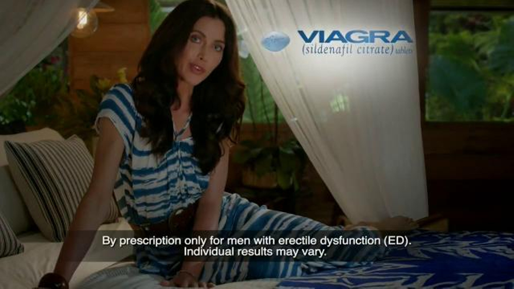 New viagra commercial actress name