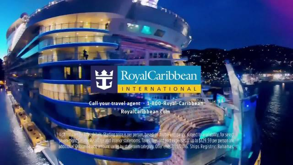 Royal Caribbean Cruise Lines Tv Spot You Are A Now Or Never Ispot Tv