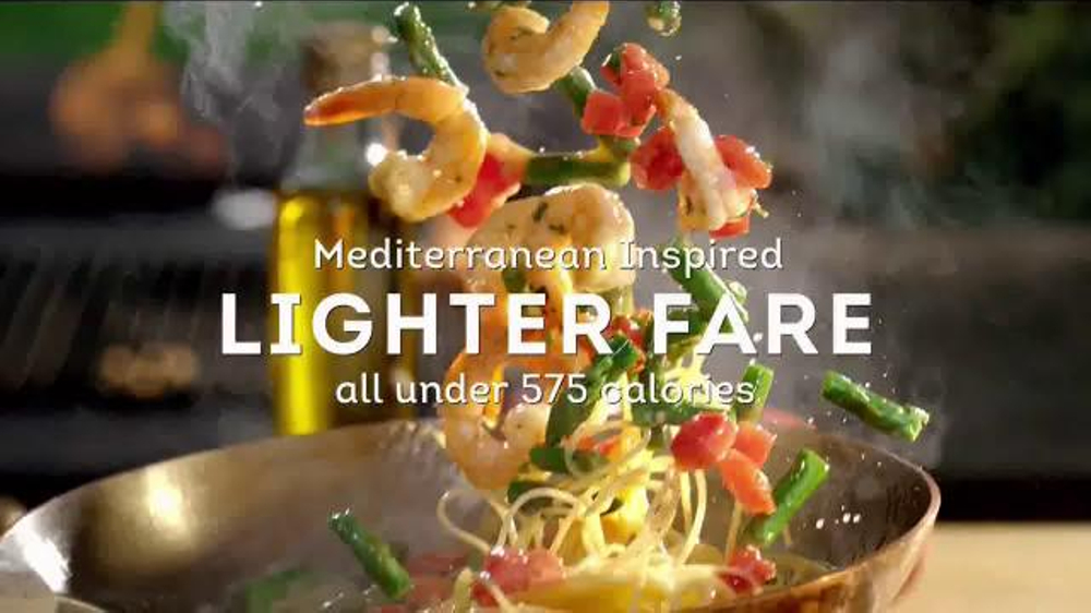 Olive Garden Lighter Fare Tv Spot 39 Mediterranean Inspired 39