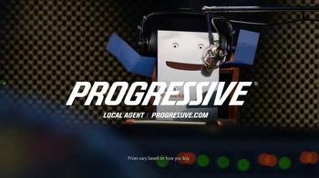 Progressive TV Spot, 'Rapper Box: Go Paperless' - 65 commercial airings