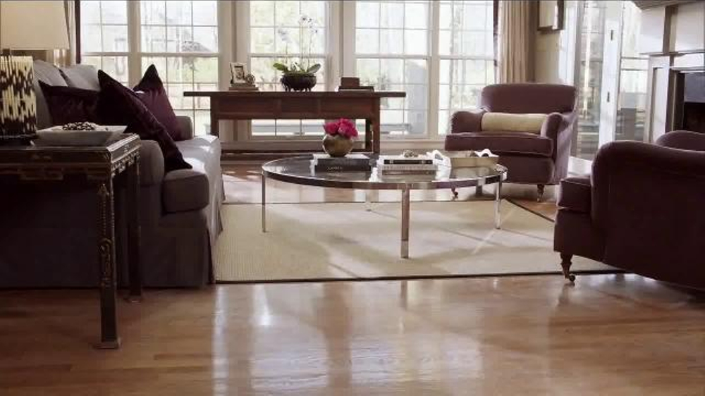 Holloway house quick shine tv spot 39 clean floors 39 for Wood floor quick shine