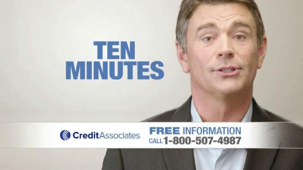 Credit associates tv spot eliminate debt screenshot 2
