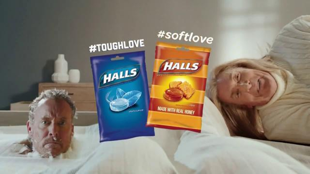 Halls TV Spot, 'Tough & Soft Love' Featuring John C