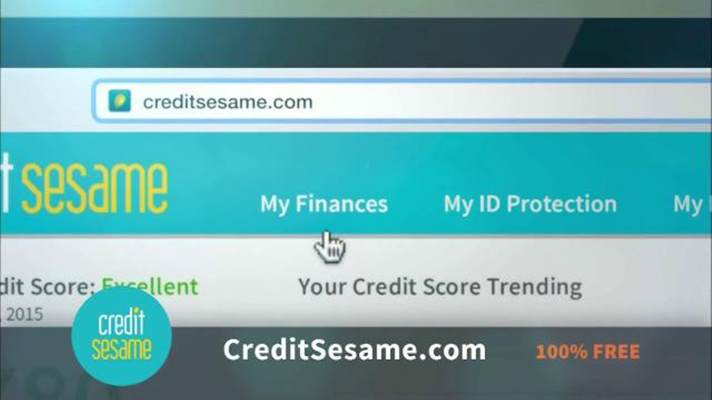 Credit sesame tv spot open the door to achieving a perfect score