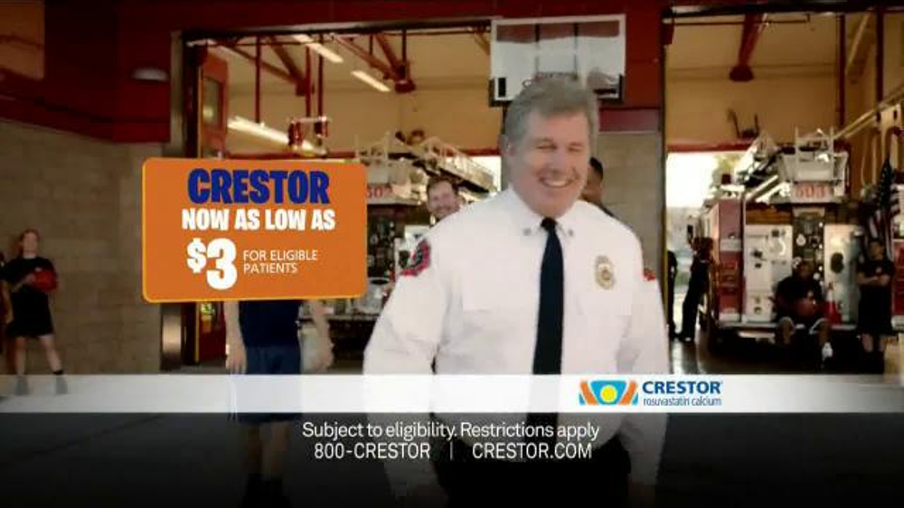 Crestor TV Spot, 'Firefighter' Song by War - iSpot.tv