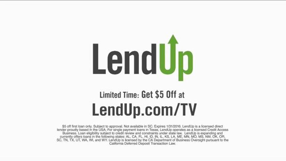 Lendup tv spot nacho screenshot 10