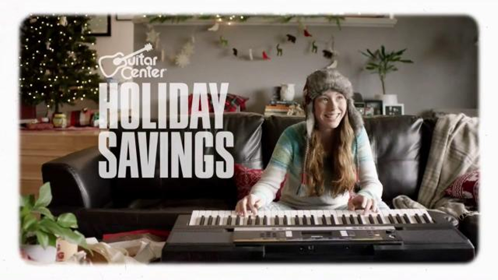 guitar center holiday savings tv spot 39 digital piano and select cables 39. Black Bedroom Furniture Sets. Home Design Ideas