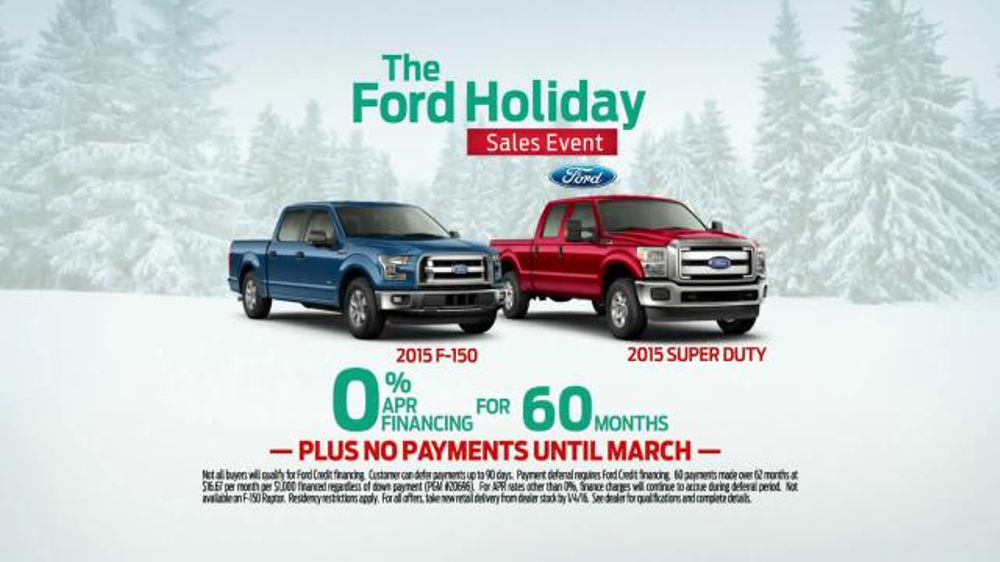 Brothers Auto Sales >> Ford Holiday Sales Event TV Spot, 'Best-Selling Trucks' - iSpot.tv