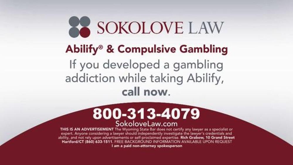 Pulaski Law Firm >> Sokolove Law TV Spot, 'Abilify Gambling Problem' - iSpot.tv
