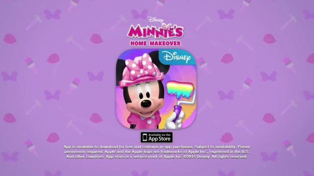 minnie 39 s home makeover app tv spot 39 tap swipe 39