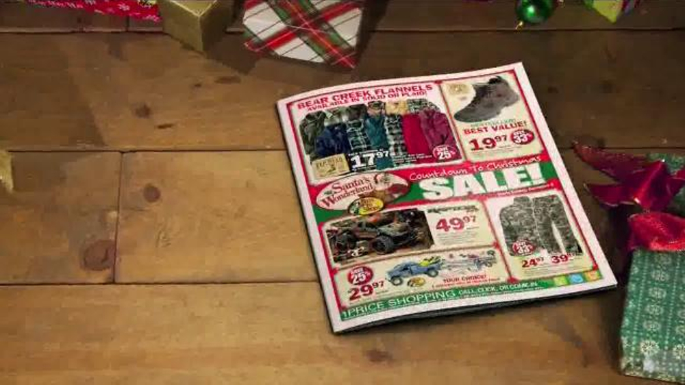 Bass pro shops countdown to christmas sale tv spot for Redhead bear creek flannel shirt