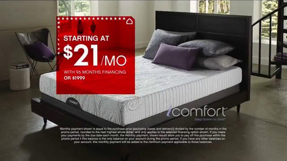 Ashley Homestore Presidents Day Mattress Sale TV Spot