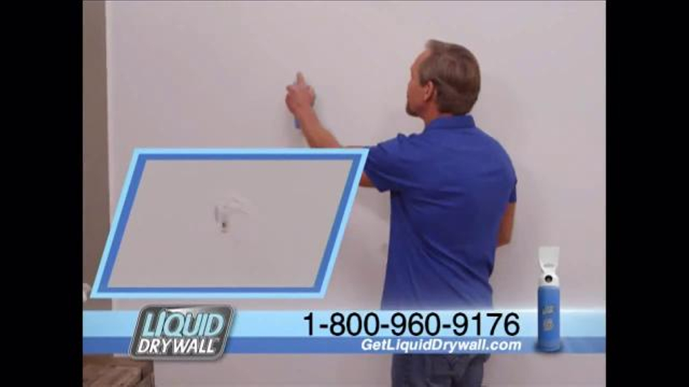 Liquid drywall