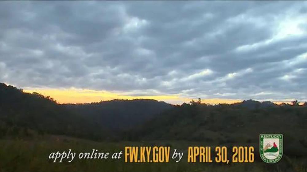 Kentucky department of fish wildlife tv spot 39 elk for Ky department of fish and wildlife