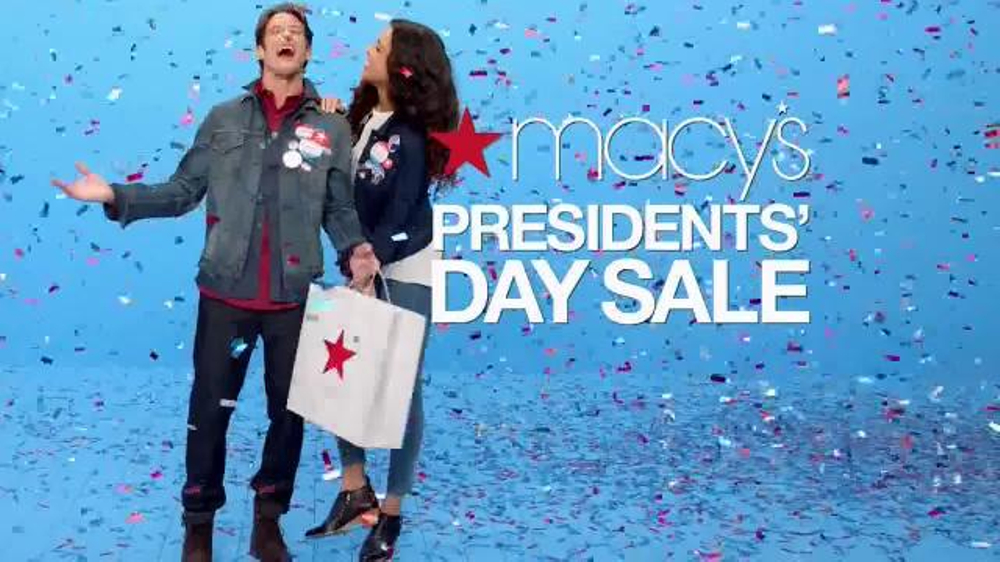 macy 39 s presidents 39 day sale tv spot 39 wow savings pass 39. Black Bedroom Furniture Sets. Home Design Ideas