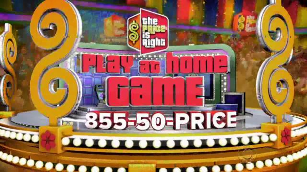 cbs the price is right play at home game