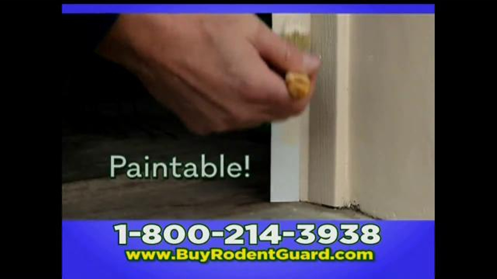 Garage Door Rodent Guard Tv Spot Don T Let Rodents In