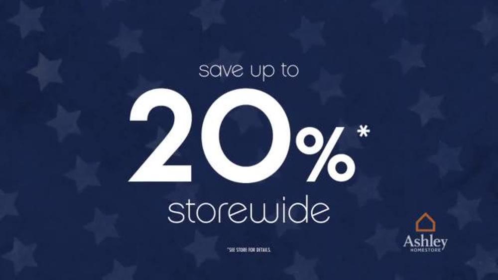 Ashley Furniture Homestore Presidents Day Sale TV Spot