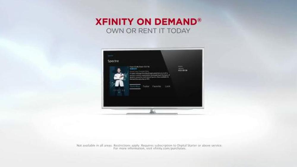 Xfinity on demand tv spot 39 spectre 39 for Tv on demand