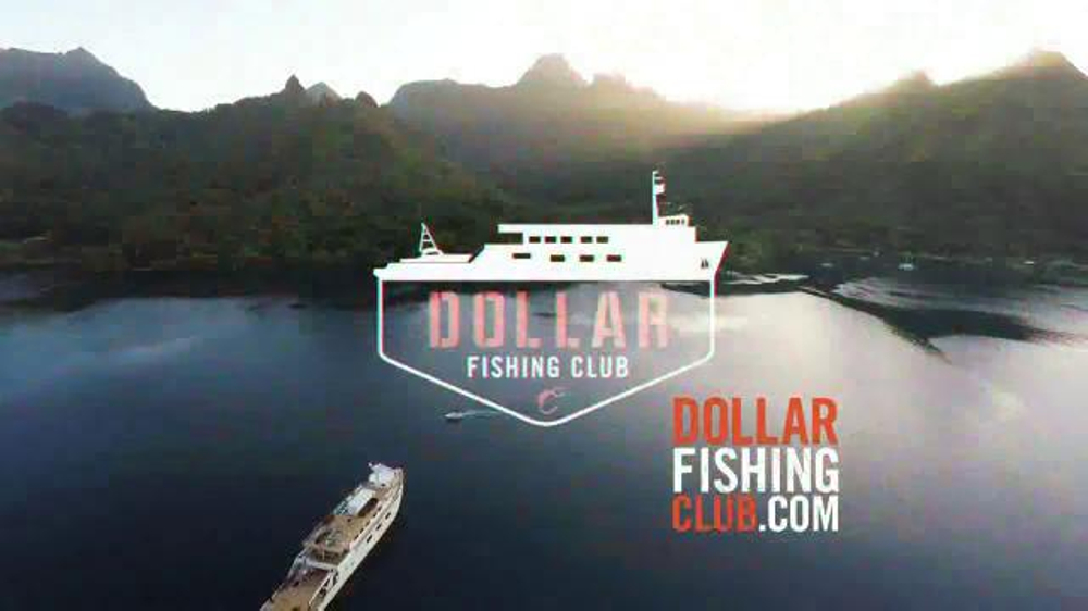 dollar fishing club tv spot 39 best buck in fishing launch