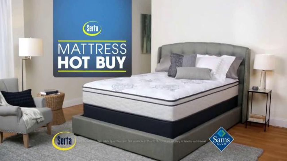 Sam s Club TV Spot Mattress Hot Buy iSpot