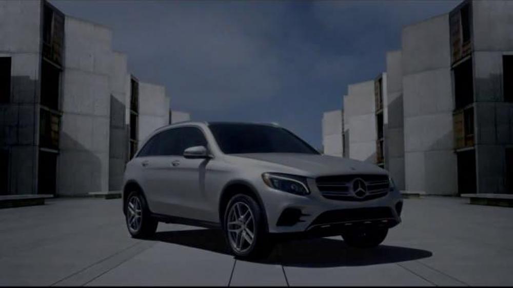 2016 mercedes benz glc tv spot 39 overachiever 39 for Mercedes benz commercials