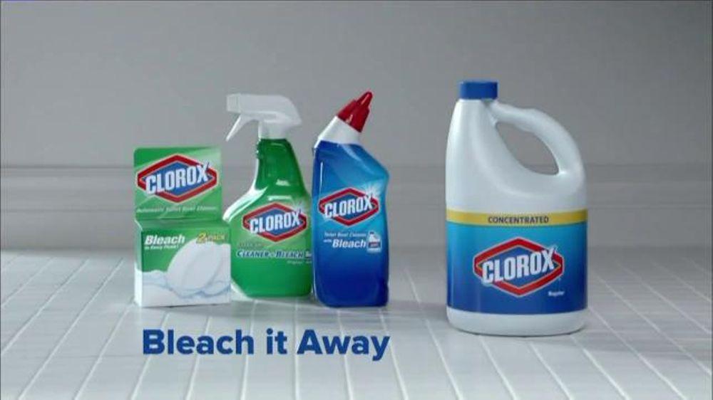 Clorox Bleach TV Spot, 'Bleach It Away: Distance' - iSpot.tv