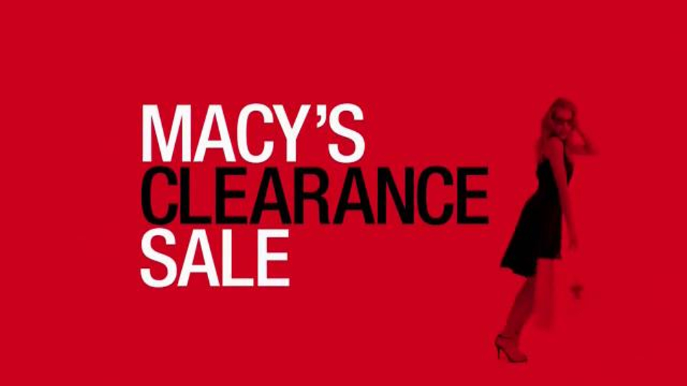 Macy 39 s clearance sale tv spot 39 stock up with savings for Macy s jewelry clearance
