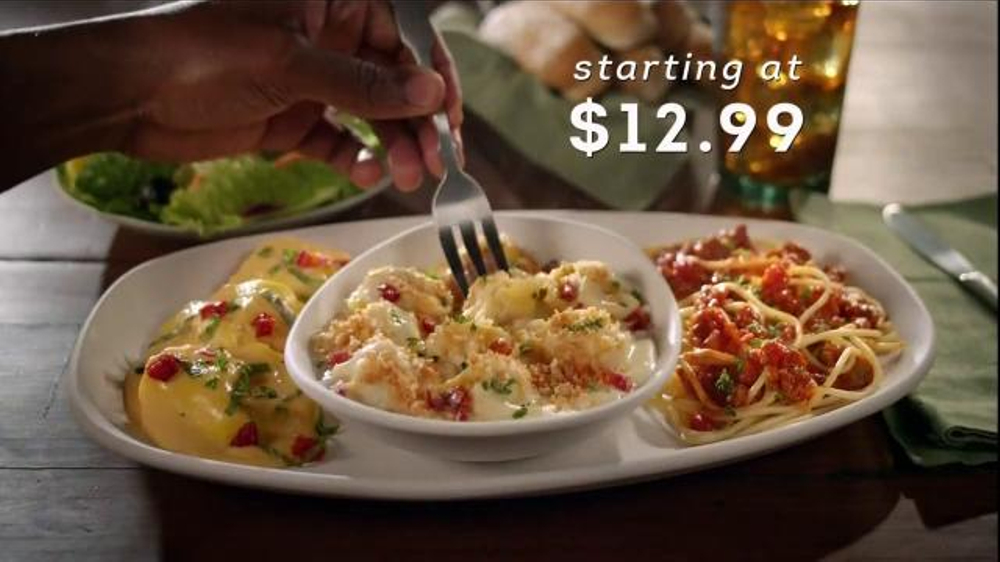 Olive Garden Create Your Own Tour Of Italy Tv Spot 39 Choose Three 39