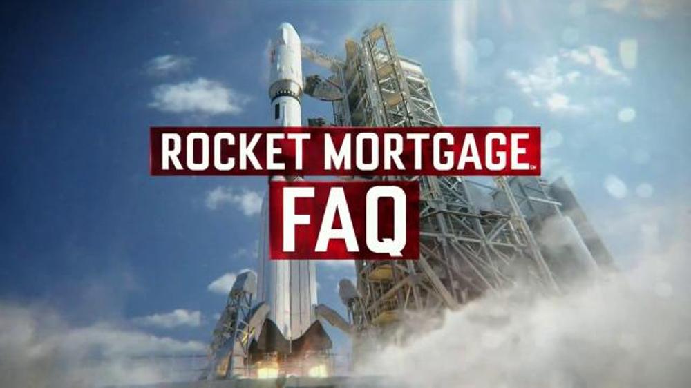 Quicken Loans Rocket Mortgage TV Spot, 'FAQ #8 Easy ...