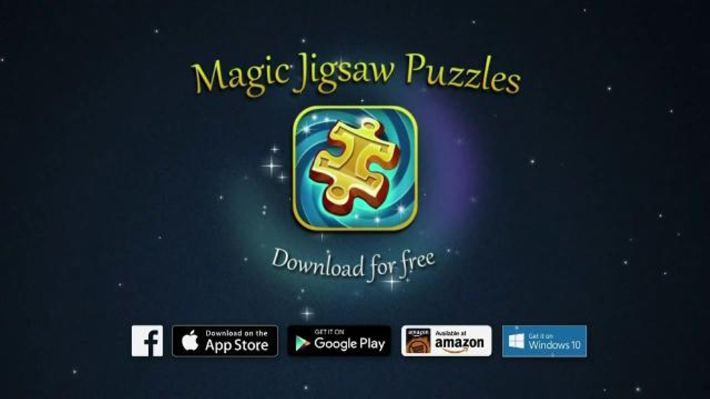 Magic jigsaw puzzles app tv spot 39 animals landscapes Magic app