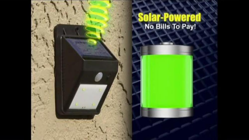 Ever Brite Tv Spot Wireless Solar Powered Light Ispot Tv