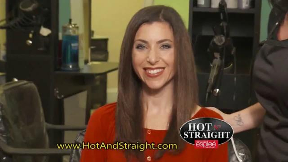 Hot N Straight By Esplee Tv Spot Brush And Style