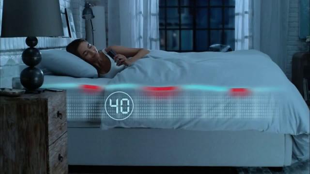 Sleep number tv spot 39 sleep iq technology 39 for Sleep number iq bed