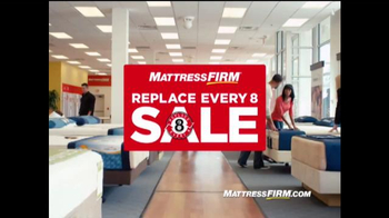 Mattress Firm: Replace Every 8 Sale: Time to Replace