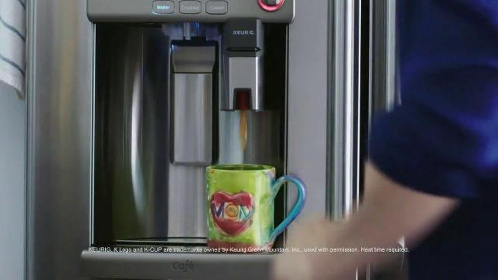 Ge Refrigerator With Keurig Coffee Maker Lowe S : Lowe s TV Spot, Keurig Fridge - iSpot.tv