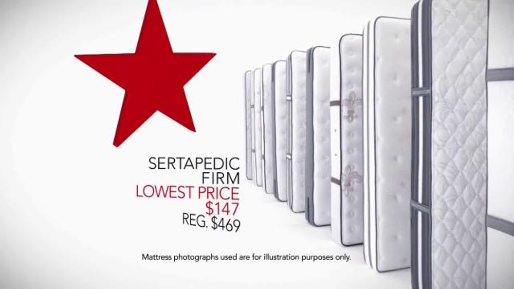 Macy s Veterans Day Mattress Sale TV mercial Sealy