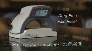 Willow Curve TV Spot, 'Drug-Free Pain Relief' Featuring Chuck Woolery