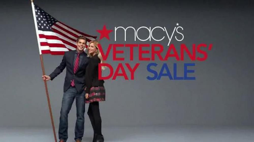 Macy s veterans day sale tv spot savings pass screenshot 1