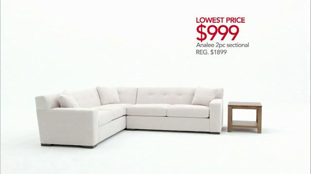 Macy s Veterans Day Sale TV mercial Low Furniture