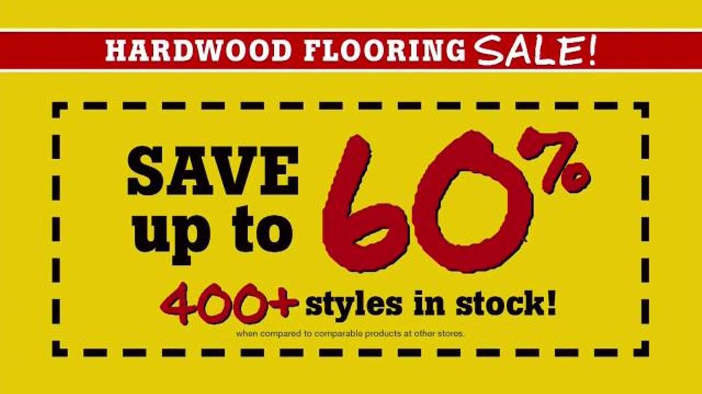 Flooring Sale Flyer : Lumber liquidators hardwood flooring sale tv spot set