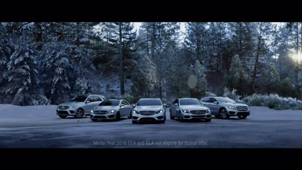 mercedes benz winter event tv commercial 39 early risers