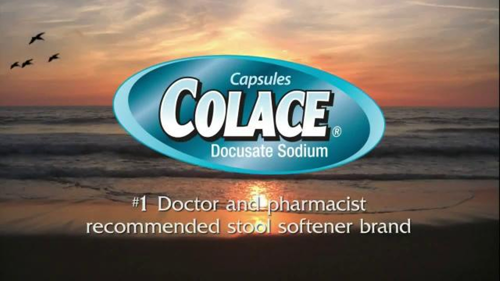 Colace Clear Tv Commercial Feel Free Ispot Tv