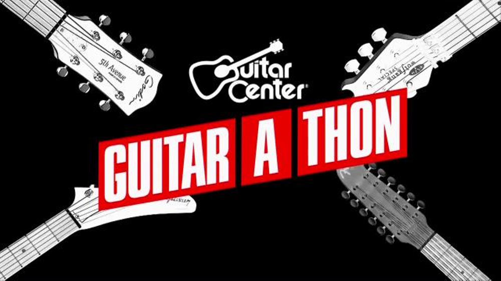guitar center guitar a thon tv spot 39 top brands 39
