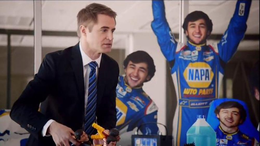 Napa auto parts tv spot nascar merchandising feat dale earnhardt