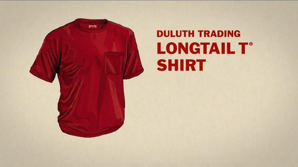 duluth trading company longtail t shirt tv commercial