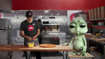 Pizza Hut: Homesick Alien