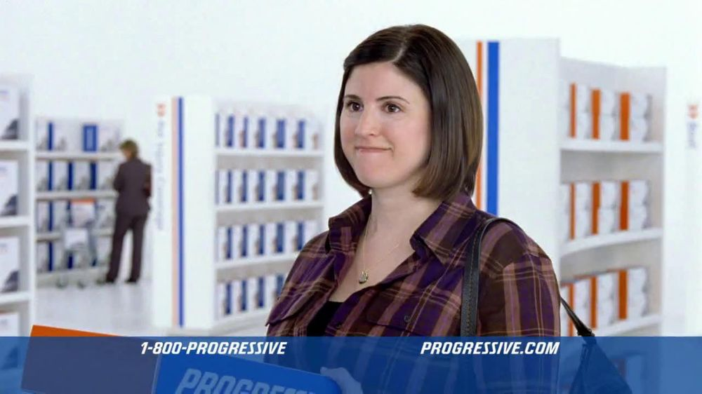 progressive online insurance actress
